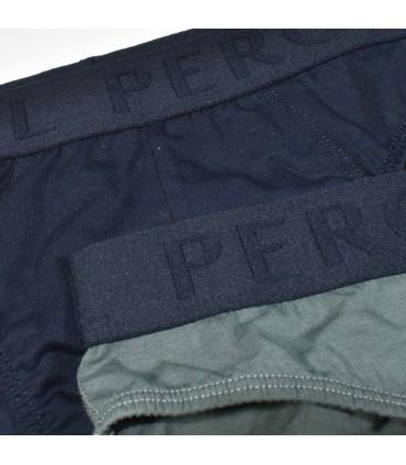 PEROFIL 3 SLIP UOMO IN COTONE CON LOGO ART.VPRT91942