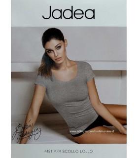 SHIRT JADEA DONNA M/CORTA COTONE ELASTICO ART 4181