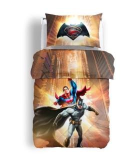 CALEFFI TRAPUNTA SINGOLO BATMAN E SUPERMAN