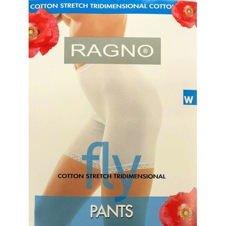 FLY PANTS IN COTONE ELASTICO RAGNO
