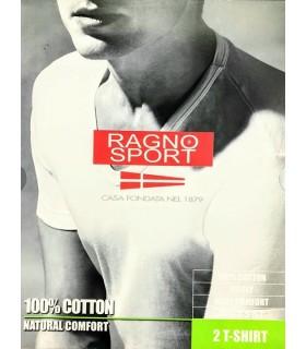 RAGNO SHIRT UOMO MANICA CORTA SCOLLO V 601418