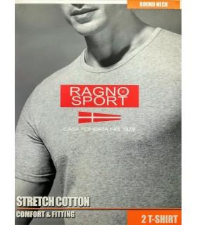 RAGNO SHIRT UOMO MANICA CORTA GIROCOLLO 601477