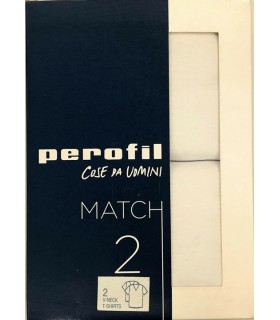 T-SHIRT PEROFIL UOMO MCH T-SHIRT V 2 PEZZI 24521