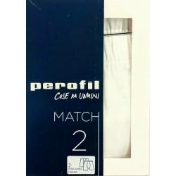 PEROFIL MATCH PARIGAMBA UOMO ART.24526/24542 (2 PEZZI)