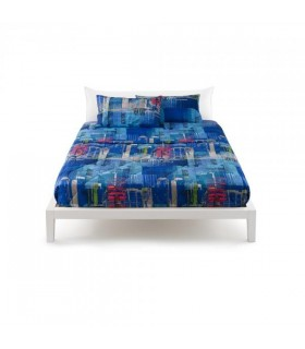 BASSETTI COMPLETO LETTO SINGOLO BIG APPLE