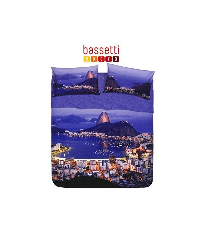 BASSETTI COMPLETO LETTO COPRILETTO 1,5 P RIO