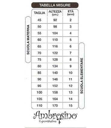 AMBROSINO GREMBIULE ASILO BIMBO SPIDER MAN ART. G034