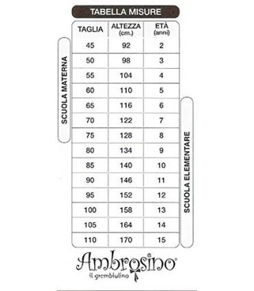 AMBROSINO GREMBIULE ASILO BIMBO PJMASKS ART. S942090B
