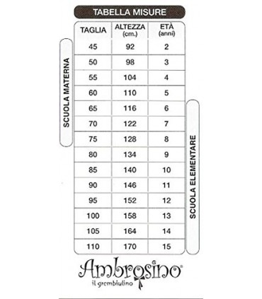 AMBROSINO GREMBIULE SCUOLA BAMBINA ART. S952008