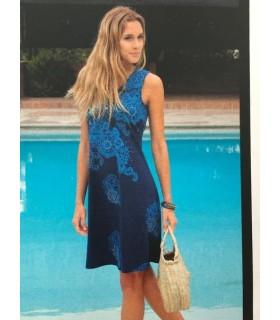 Massana Homewear Donna Abitino Spalla Larga Scollo V Puro Cotone Art. L197298