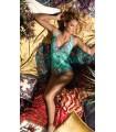 Marina Abagnale Donna Bikini Intero Con Coppa Foderata Fantasia Art.20012