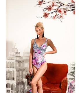 Marina Abagnale Donna Bikini Intero Coppa Leggero Push-Up Art.20451