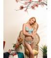 Marina Abagnale Donna Bikini con Ferretti e Slip Fantasia Art.20632