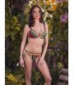 PortRose Donna Bikini con Leggera Imbottitura e Due Varianti Slip Art.30942