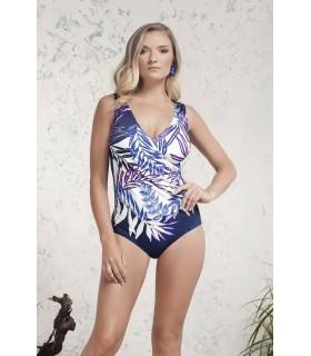 PortRose Donna Bikini Intero con Leggera Imbottitura Fantasia Art.30051