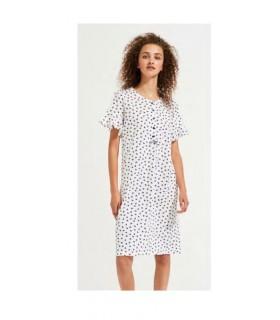 Noidinotte Camicia da Notte Donna a Manica Corta Art.LA1899
