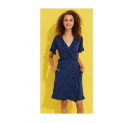 Noidinotte Vestaglia Donna Manica Corta In Cotone Art.GE2036