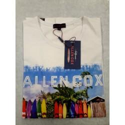 Allen Cox T-Shirt Uomo a Girocollo Art.976014