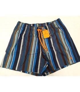 GALLO Uomo Costume Da Bagno Pantalone Medio Con Righe Art.UMA109