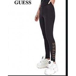 GUESS LEGGINS DONNA CON LOGO LATERALE SUL POLPACCIO ART.O94B01JR046