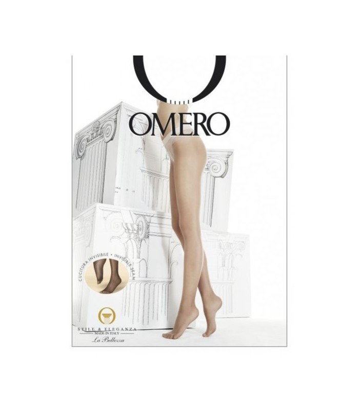 COLLANT OMERO BEAUTY 10 DEN VELATO OPACO CON FILATO MOBILON 3D