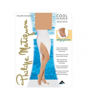 COLLANT PHILIPPE MATIGNON COOL SUMMER SENZA PUNTA 8 DENARI
